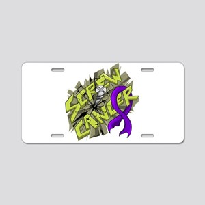 -Screw Leiomyosarcoma 4C Aluminum License Plate